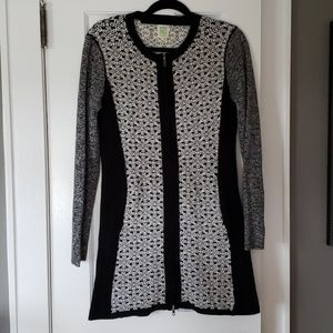 Title Nine zip sweater dress